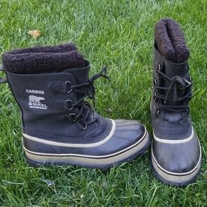 Sorel Caribou Waterproof Boots Size 7